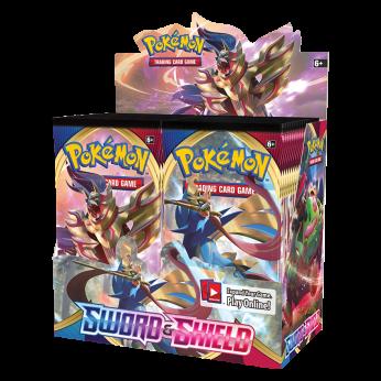 Pokemon Sword & Shield Box