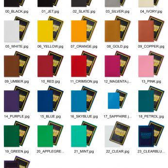 Dragon Shield Colors
