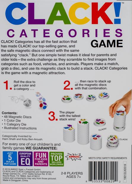Clack Categories