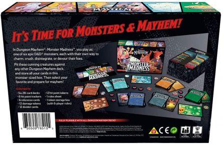 DM Monster Madness Back
