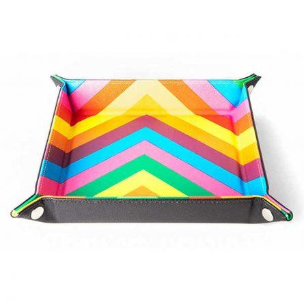 MDG Dice Tray Rainbow