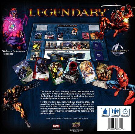 Marvel Legendary Back