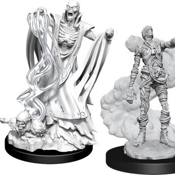 Lich and Mummy Lord