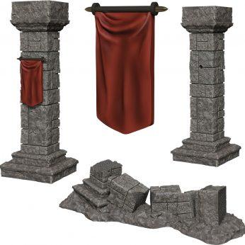 PIllars and Banners
