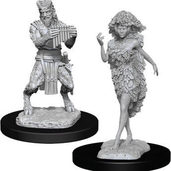 Satyr and Druid