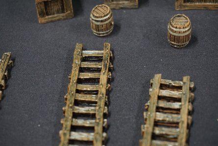Ladders Crates and Barrels