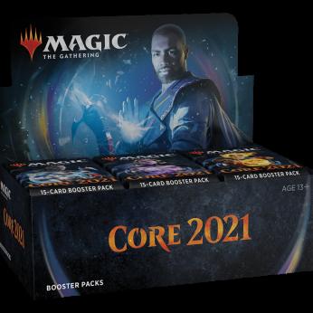 Core 2021 Booster Display Box