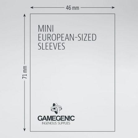 Mini Euro Size