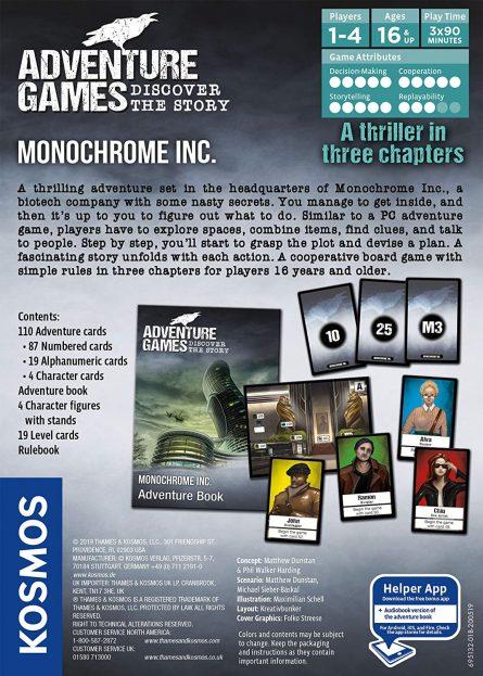 Monochrome Inc Back