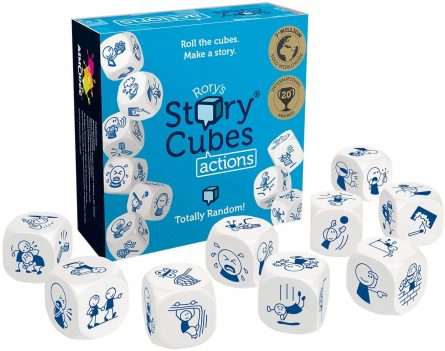 Story Cubes Actions Contents