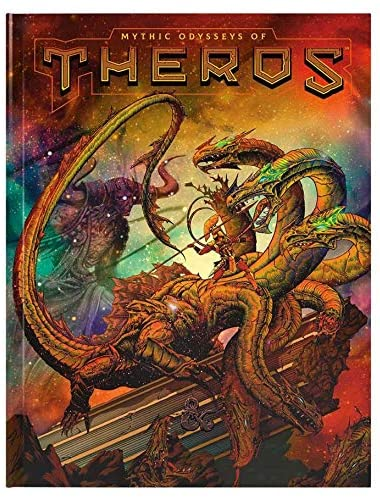 D&D Theros Limited Edition Cover