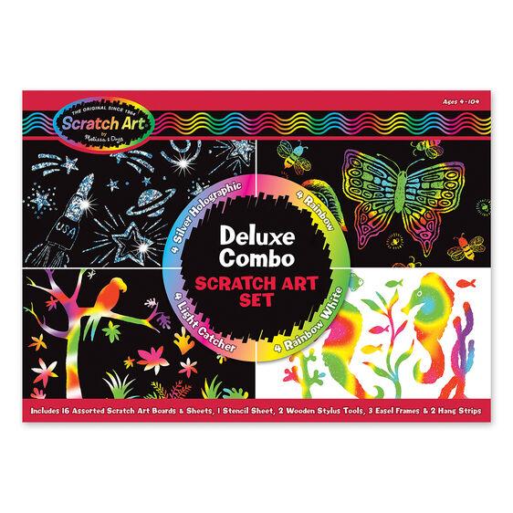 Deluxe Combo Scratch Art Set