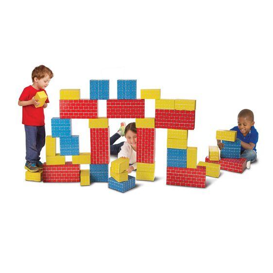 Deluxe Jumbo Cardboard Blocks