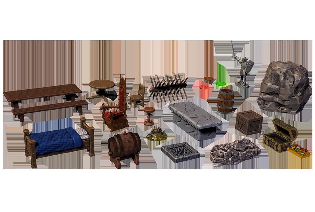 Dungeon Dressings