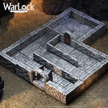 Dungeon Tiles Basic Setup