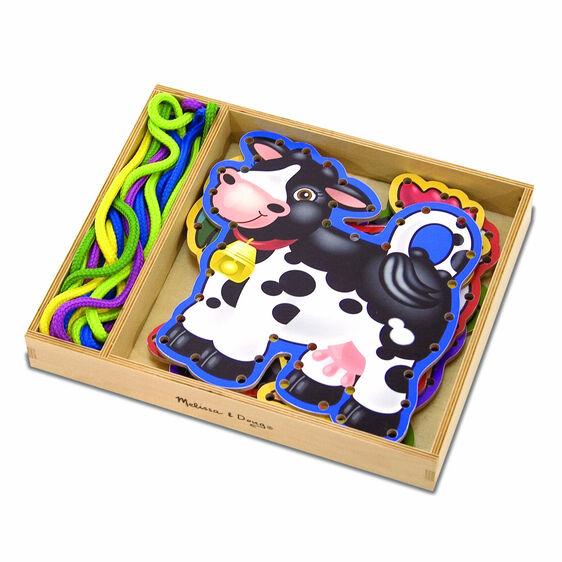 Farm Animals Lace & Trace