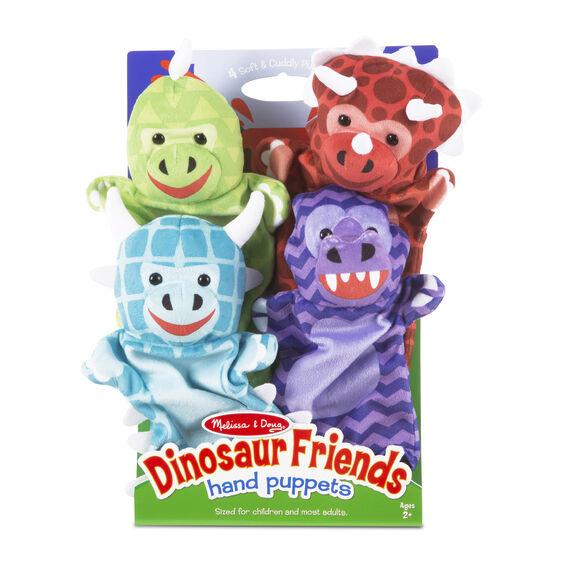Hand Puppets- Dinosaur Friends