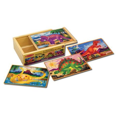 Puzzles in a Box- Dinosaurs