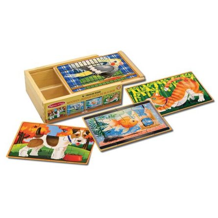 Puzzles in a Box- Pets