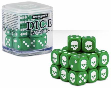 Dice Cube Green