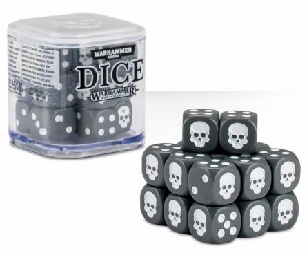 Dice Cube Gray