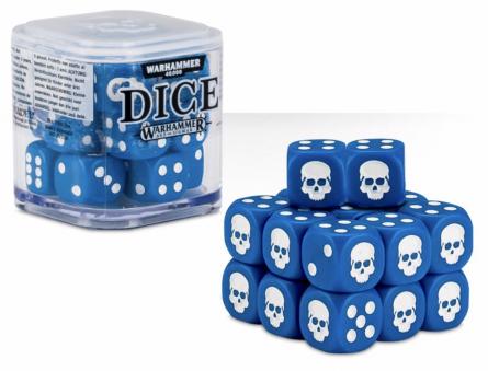 Dice Cube Blue