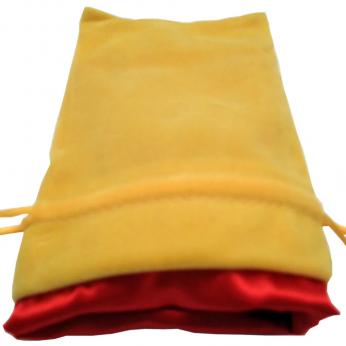 Gold Dice Bag