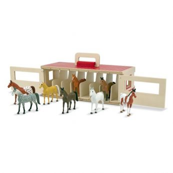Take-Along- Show-Horse Stable